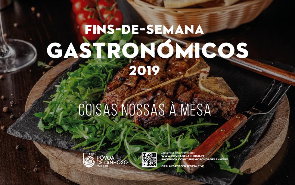 Fins-de-Semana Gastronómicos 2019 – Coisas nossas à Mesa