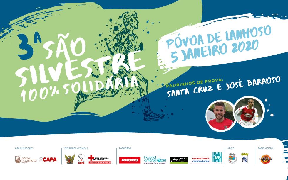 3.ª São Silvestre 100% Solidária da Póvoa de Lanhoso