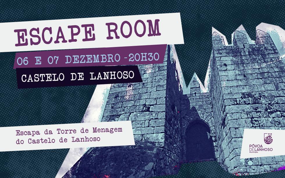 Escape ROOM no Castelo – 6 e 7 de Dezembro